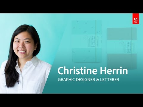 Graphic Design with Christine Herrin - Live 1/3