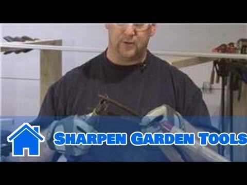 Home Improvement & Maintenance : How to Sharpen Garden Tools