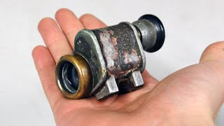 Antique World War I Monocular Restoration - Carl Zeiss Jena