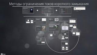 Методы ограничения токов КЗ(Доклад в московском филиале ОАО