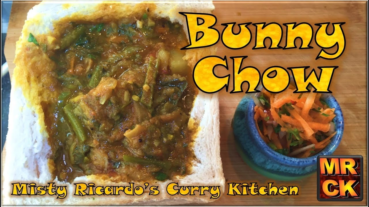 Bunny Chow (South African Curry served inside Bread)