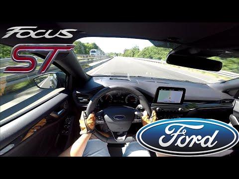2019 Ford Focus ST 2.3l EcoBoost (280 PS) POV Testdrive AUTOBAHN acceleration & speed