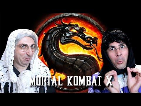 2 Γιαγιάδες Παίζουν Mortal Kombat X!