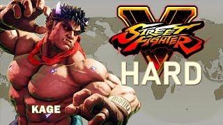 Street Fighter V - Kage Arcade Mode (HARD)