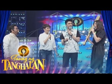 Tawag ng Tanghalan: Anne teases Jhong by calling him weak