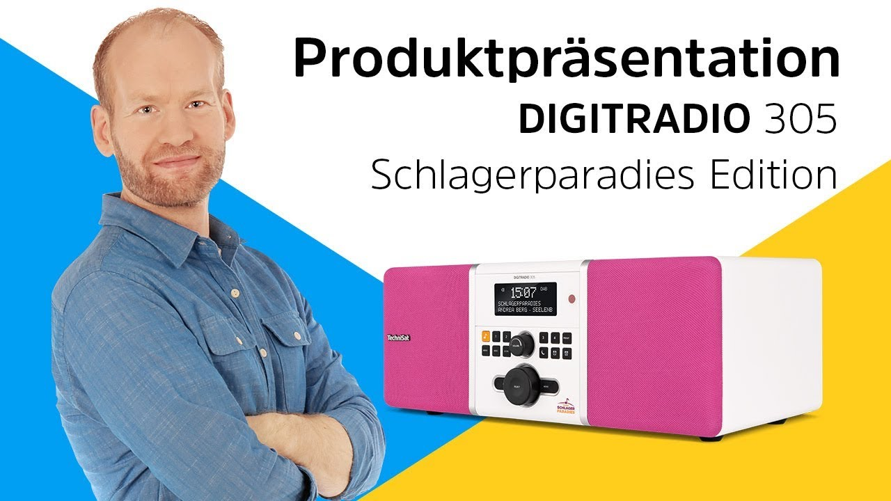 Video: DIGITRADIO 305 Schlagerparadies Edition | Ein Muss für Schlagerfans. | TechniSat