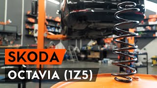 Hvordan skifte Spiralfjærer på SKODA OCTAVIA Combi (1Z5) - videoguide