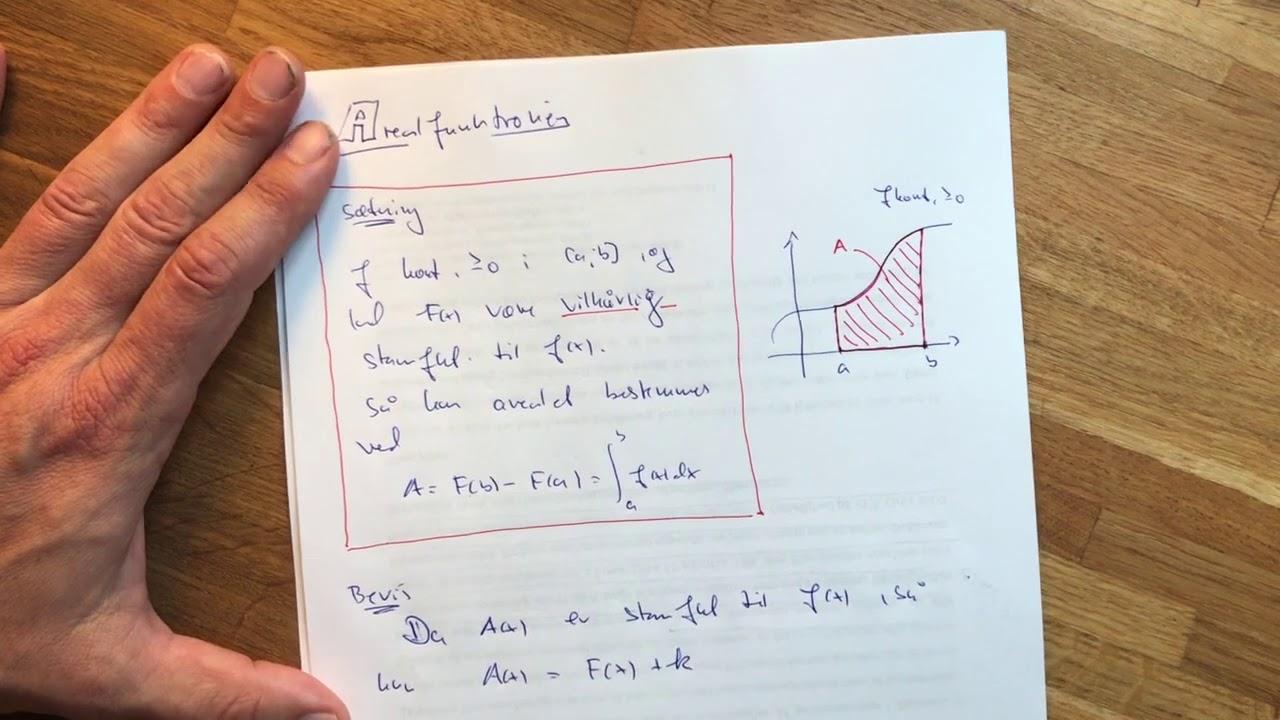 tt integralregning 7 arealfunktionen 3