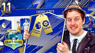 Omg 189 tots premier league la liga hybrid! draft to glory #11! fifa 18 ultimate team