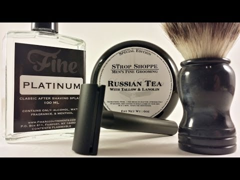 My thoughts on Standard Razors, SS Russian Tea, Fine Platinum,  Rudy Vey Customs