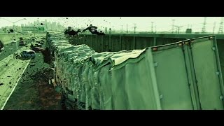 The Matrix Reloaded Truck Scene Truck Crash HD