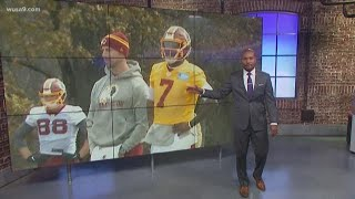 The redskins are 1-9 and if there's one player, who haskins can learn how to overcome adversity from, it's alex smith.