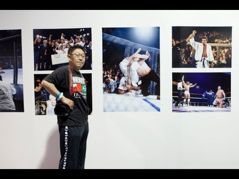 Legendary MMA Photographer Susumu Nagao Discusses Exhibition at World Jiu-Jitsu Expo