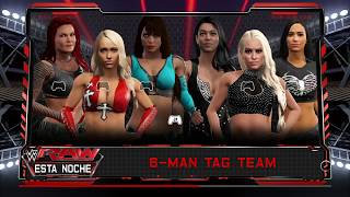 WWE2k17 #131 Raw: LayCool & Lita vs Bring It & Aj Lee