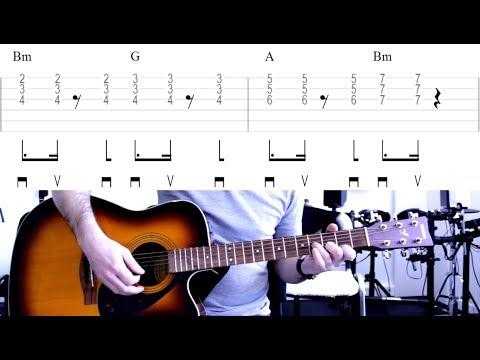 On Trace - Les Enfoirés (tuto Guitare)