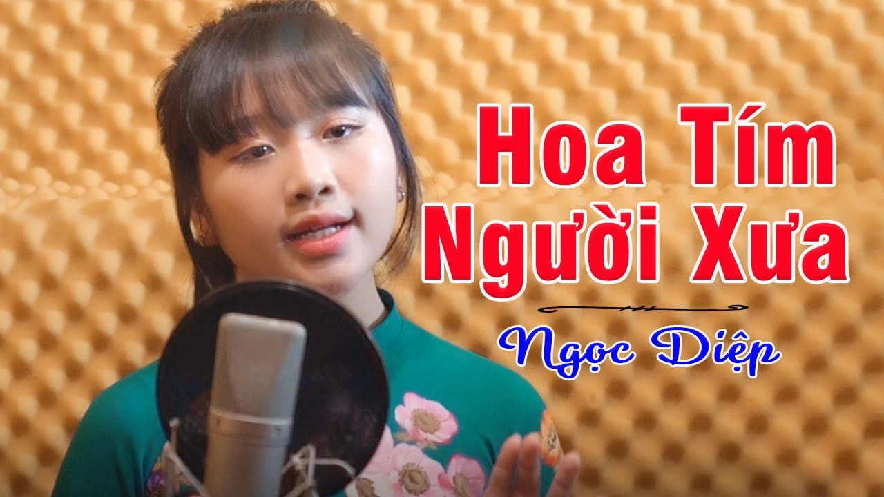 Hoa Tím Người Xưa - Ngất Ngây với giọng hát lạ của thần đồng bolero Nhí Ngọc Diệp