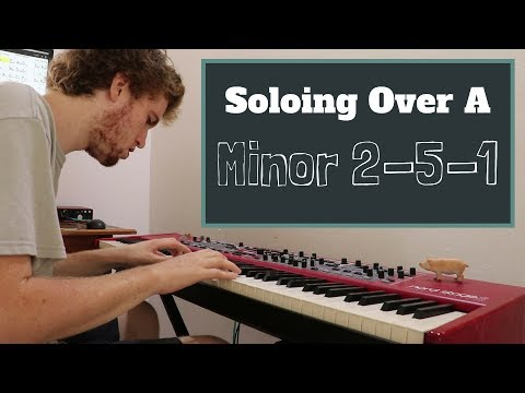 Soloing Over A Minor 2-5-1 (Dm)