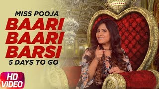 Baari Baari Barsi | 5 Day To Go | Miss Pooja | Releasing on 23rd Sep 2017 | Speed Records