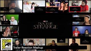 Doctor Strange - Comic Con  Trailer  Reaction Mashup