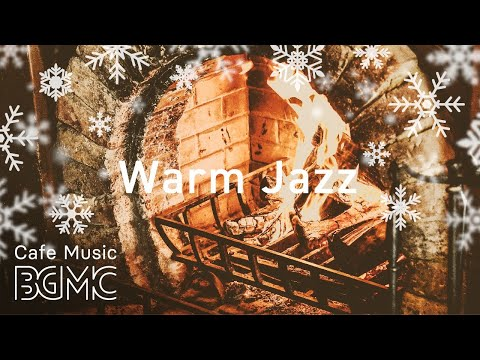 Relaxing Christmas Songs Jazz Cover - Chill Out Christmas Music with Fireplace