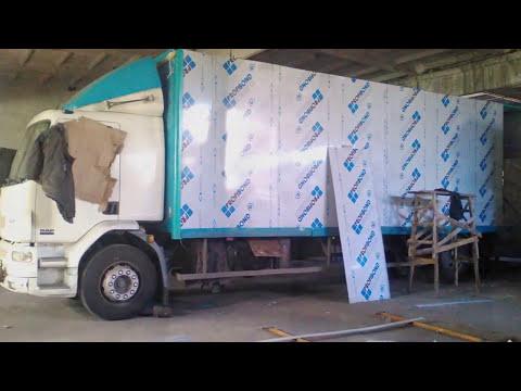 Изготовление новой стенки на автомобиль DAF. Ремонт фуры