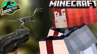 Minecraft Jurassicraft : EP.20  กำเนิดไดโนเสาร์  ตัวที่เล็กที่สุดในโลก : คอยาวมาเเล้ว