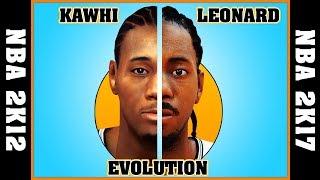 KAWHI LEONARD evolution [NBA 2K12 - NBA 2K17] 🏀