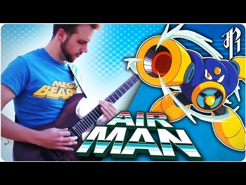Mega Man 2: Airmans Theme  Metal   RichaadEB