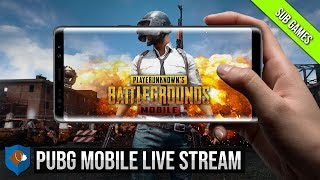 PUBG MOBILE LIVE STREAM | SUB GAMES | TENCENT GAMING BUDDY