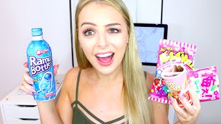 AUSTRALIAN TRIES JAPANESE CANDY!!