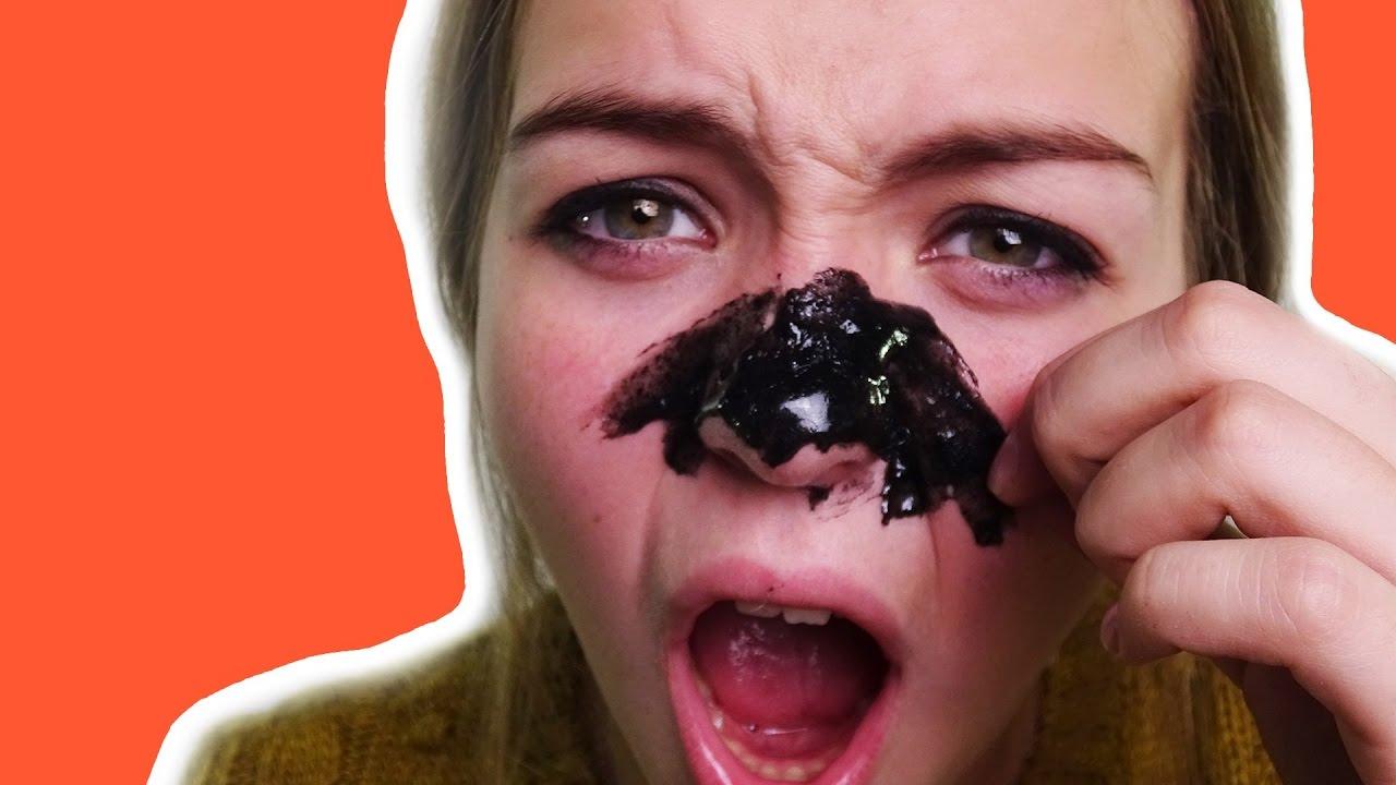 черная маска своими руками желатин