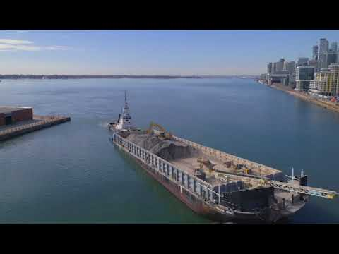 Construction Continues in the Port Lands