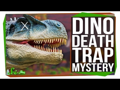 The Mystery of the Cleveland-Lloyd Dinosaur Death Trap
