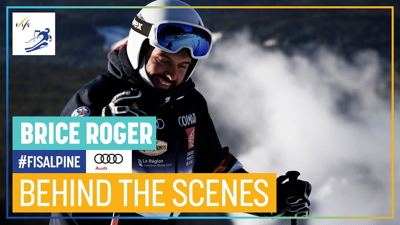 Behind the Scenes featuring Brice Roger | FIS Alpine