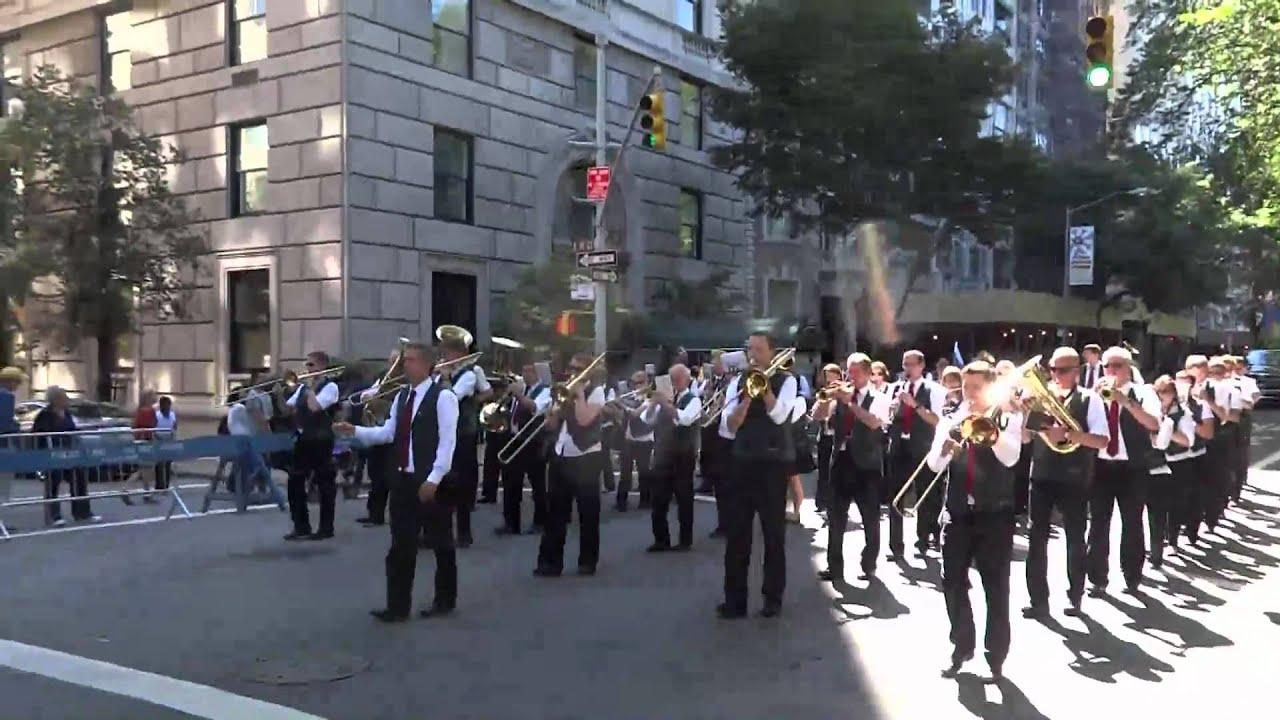 Heimatkapelle New York Steuben Parade