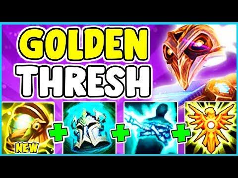 *NEW SKIN* PRESTIGE PULSEFIRE THRESH SPOTLIGHT NEW AFTERSHOCK + SUPPORT ITEM League of Legends S10