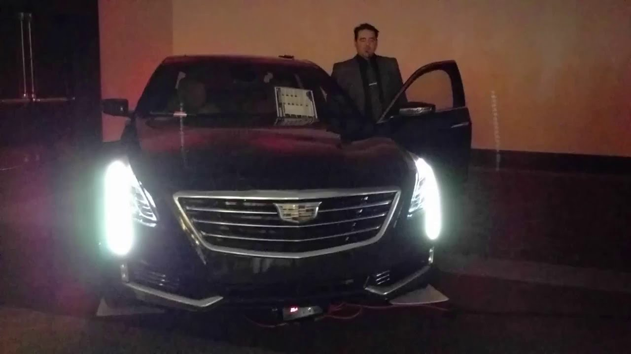 2016 Cadillac CT6 Lights And Turn Signals YouTube