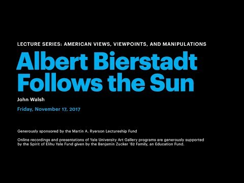 Albert Bierstadt Follows the Sun