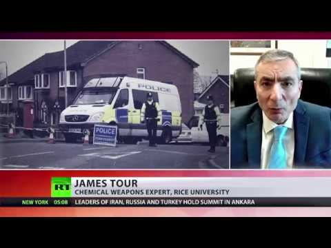 """Chemical weapons expert: """"Many states and chemists worldwide know of Novichok"""""""