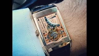 Jaeger le Coultre Reverso Tourbillon UNBOXING AND REVIEW