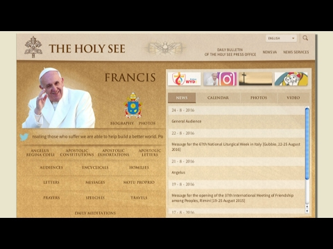 Fr. John Kingsbury, CSsR - Pope Francis' Style: The Use of the Internet