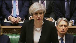 Theresa May  We are not afraid