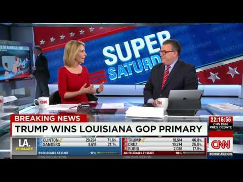 Projection: Donald Trump will win Louisiana GOP primary