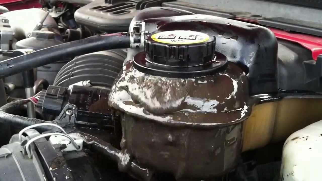 powerstroke 6 0 oil overflow youtube