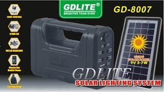 Gdlite solar lighting system