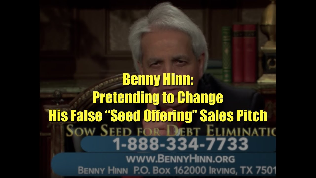 Benny Hinn: Pretending to Change His False
