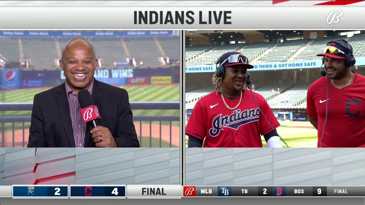 José Ramírez is looking for a new pool table   INDIANS-ROYALS POSTGAME