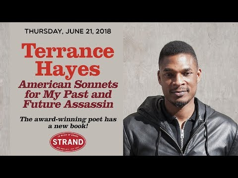 Terrance Hayes + Mary Karr   American Sonnets for My Past and Future Assassin