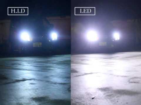 LEDヘッドライトって明るいの?HIDとの比較・実際に装着してみた! \u2013 最新車情報「carパラダイス」
