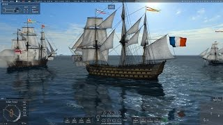 Naval Action: 1st rate duel (Victory vs Santisima gameplay)